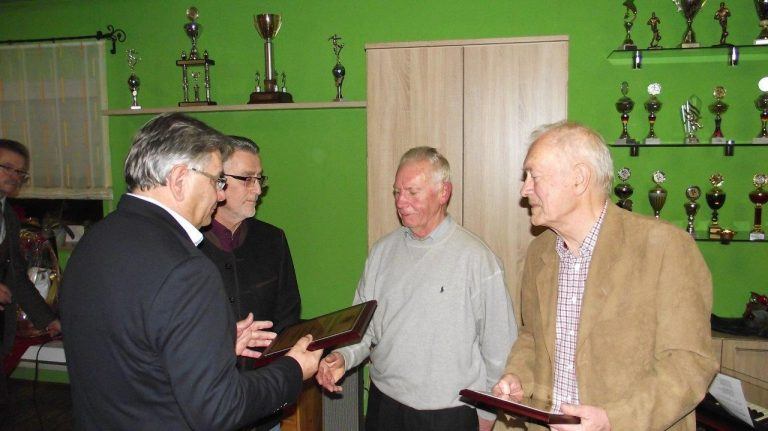 Ernennung der Ehrenmitglieder Gerhard Reif und Justus Fuhrmeister