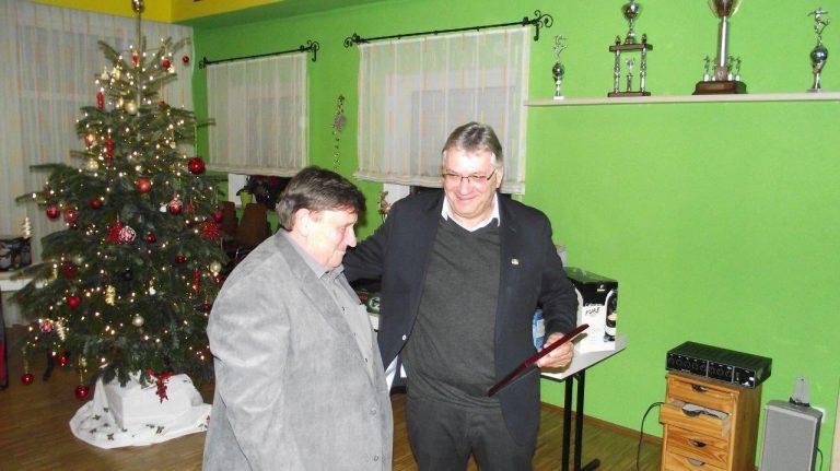 Ernennung des Ehrenmitglieds Herbert Habelt